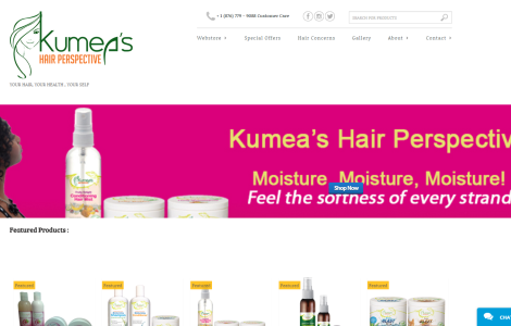 Kumea's Hair Perspective Web Store