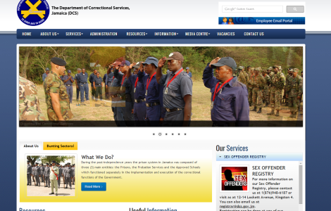 Department of Correctional Services Official Website