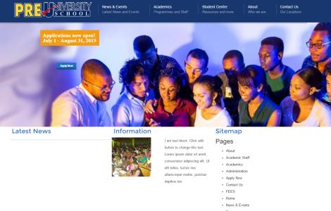 Pre University School Official Web Site
